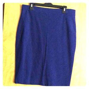 Apt 9 royal blue pencil skirt